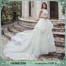 Simple elegant wedding dresses China manufacturer wholesale price wedding dress bridal gown ruffle bride dress