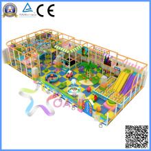 Série colorida de equipamentos de playground indoor (tqb013bf)