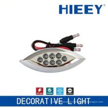 Lâmpada LED lado marcação lâmpada luz placa luz decorativa com 3 fios e LED vermelho