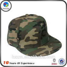 Design your own flat brim camouflage hats