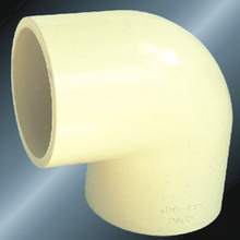 DIN PN16 Water Supply Cpvc Elbow 90 ° Gray