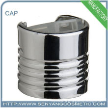 chrome disc top cap for bottle