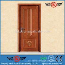 JK-W9091 2015 China Latest Design Wooden Single Main Door Design