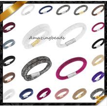 2015 Fashion New Design Mesh Stardust Bracelet magnétique pour femme (FB0123)
