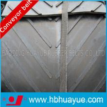 Black Special Pattern Shaped Rubber Conveyor Belt Cc Nn Ep 100-5400n/mm