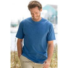 Rápido entregar camiseta de manga curta de impressão personalizada