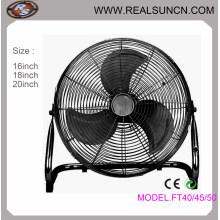 Ventilateur de sol électrique de 16 pouces Puissant moteur