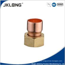 Hochwertige Kupfer-Fackelmutter Kupferrohrverschraubung