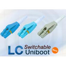 LC Uniboot Conector de fibra óptica