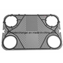 Placa de intercambiador de calor (puede reemplazar ALFALAVAL TS20)