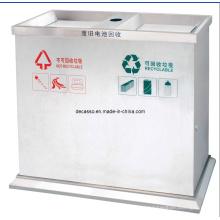 Caixote de Lixo Classificável Comercial (DL110)
