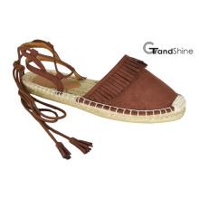 Frauen Casual Espadrille Flache Schuhe