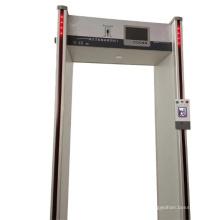 Porte de sécurité de mesure automatique de la température du corps humain