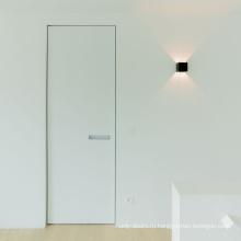 Невидимые межкомнатные двери с современными ручками
