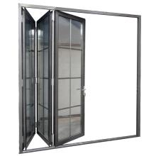 USA&Australia style soundproof veranda bifold doors,double glazed bi fold doors