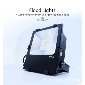 90W Outdoor Waterproof RGBW LED Flood light