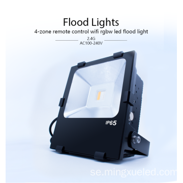 90W Utomhus Vattentät RGBW LED Flood Light