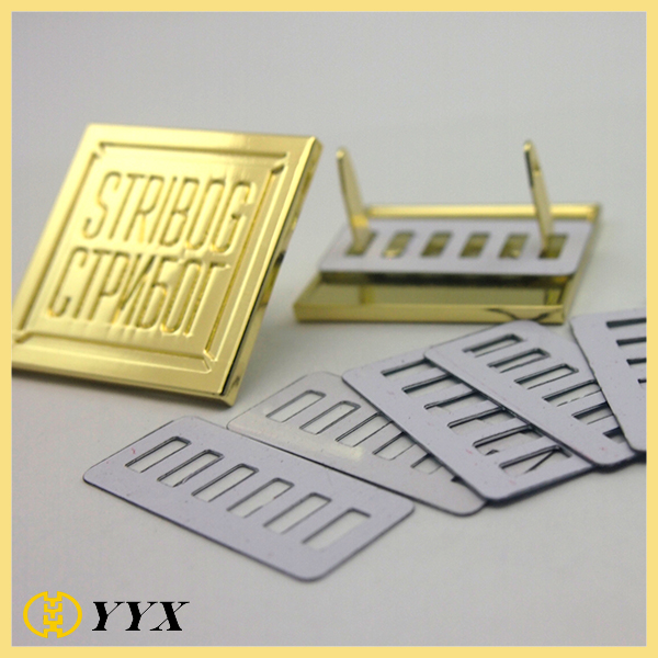 zinc alloy metal logo