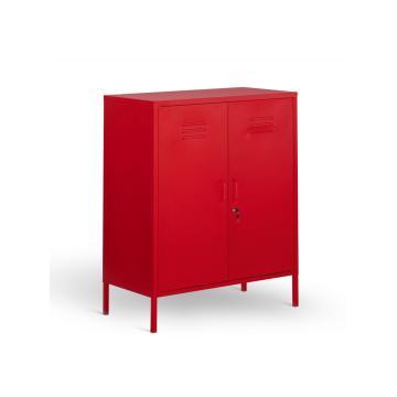 Gabinete de almacenamiento de armario de metal para la serie de muebles para el hogar