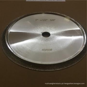 China fornecedor de ouro galvanizado diamante 200 grit rebolo