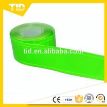 "2"" WIDTH GREEN REFLECTIVE & FLUORESCENT PVC GLOSS TAPE (CHOOSE LENGTH)"