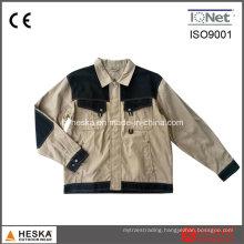 Wear-Resisting Wear safety Khaki Mens Canvas Jacket