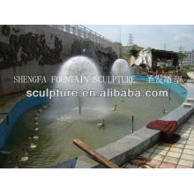 2016 New High Quality Metal Stainless Steel Water Fountain Statue Dandelion Tree Fountain Sculpture