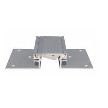 Sistema de junção de expansão de alumínio de bloqueio flexível e ajustável para o chão