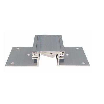 Système de joint d'expansion en aluminium à verrouillage flexible et flexible pour plancher
