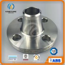 Brida acero dúplex Wn brida forjó el reborde a ASME B16.5 (KT0053)