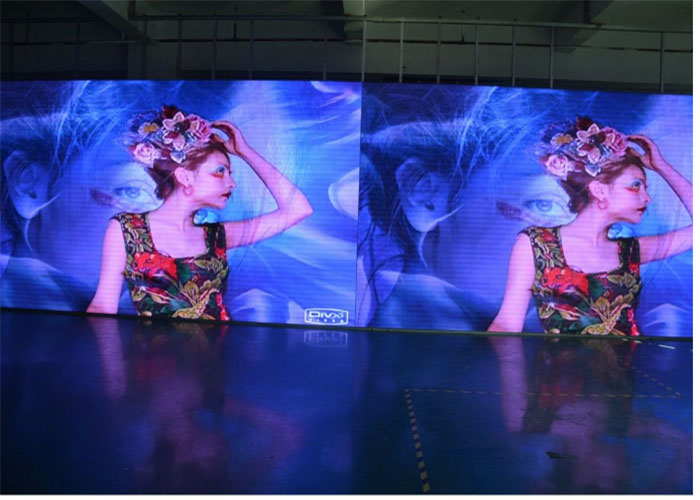 Energy saving lower power consumption rental led screen