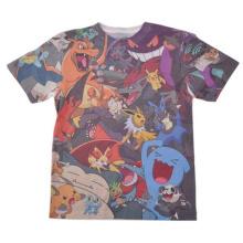 Herren Sublimation Shirt 65% Polyester 35% Baumwolle