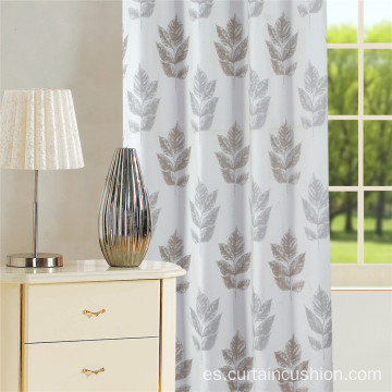 Morden Leave Design Jacquard Cortina