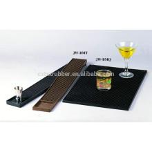 customized logo brand pvc softness bar top mat