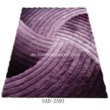 Polyester Silk Shaggy 3D Design