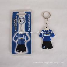 Werbe weich Pvc-Schlüsselanhänger