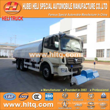 FOTON 6x4 16000L high pressure cleaning vehicle 336hp cheap price