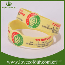 Фабричные специальные персонализированные силиконовые браслеты