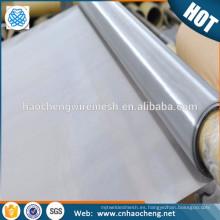 Precio de fábrica 30 50 malla c276 c22 b2 b3 pantalla de malla de alambre hastelloy