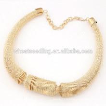Collier de collants breloque en acier collier en élastique