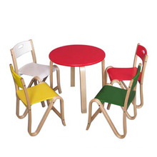 New Wooden Dining Table and Chair for Kids, Wooden Toy Children Dining Table and Chair, Cheap Dining Table and Chair Toy Wj277589