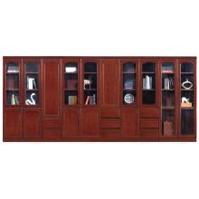 Cabinet de dépôt chinois de meubles avec portes et tiroirs en verre (FOH-AM1623 et 1633)