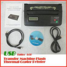 Máquina de Copiadora Térmica de Tatuaje USB LCD Tattoo Stencil Maker Transfer