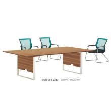 Table de salle à manger moderne MFC de design simple (FOH-CT-F-2212)
