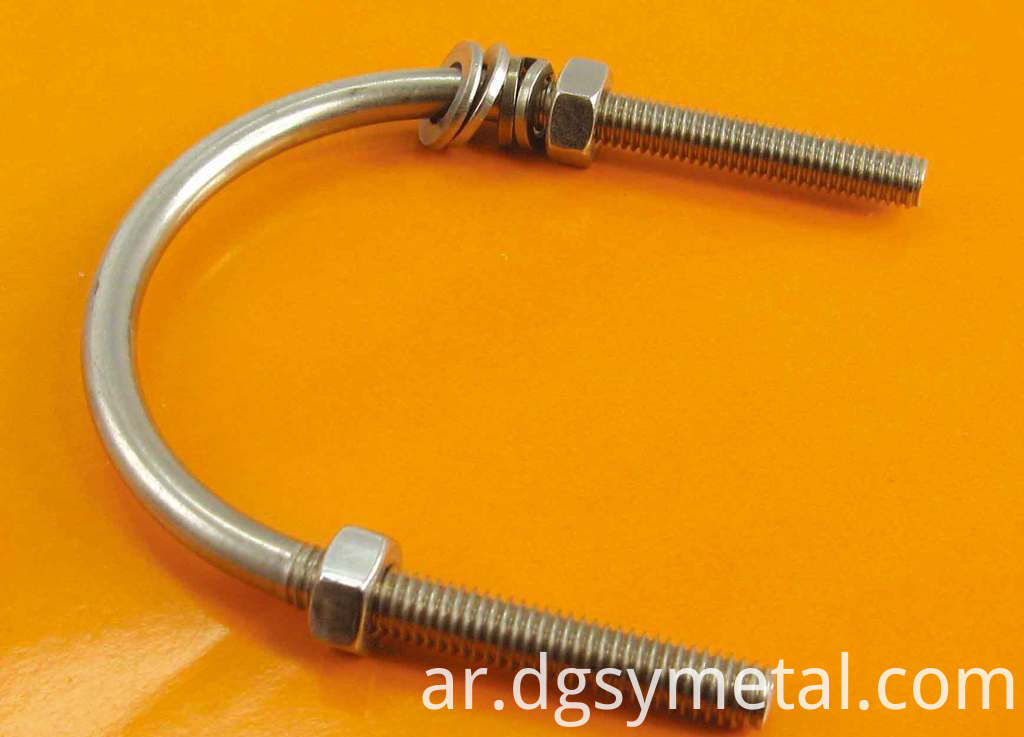 L shape anchor bolt