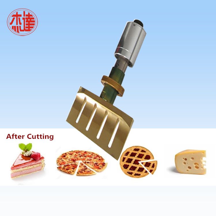 Ultrasonic Transducer for Cutting Food
