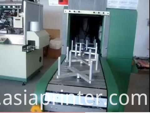 uv curing machine of bottle