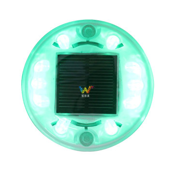Led cat eye Round Plastic Solar Road Stud