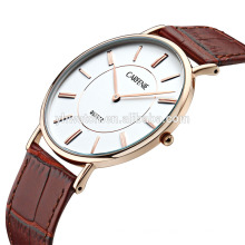 Hot sale factory direct price ultra thin stainless steel waterproof wrist watch for men