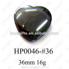 Pingentes Coração Hematita 36MM